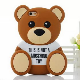 Чехол 3D Cute Cartoon Bear Toy Brown Soft Silicone для iPhone 8/7