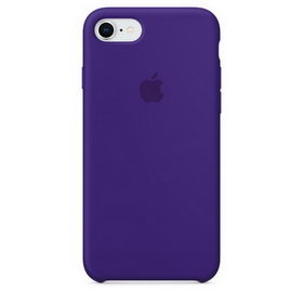 Apple Silicone Case for iPhone 7/8 - Ultra Violet (Hi-Copy)