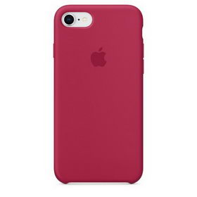 Apple Silicone Case for iPhone 7/8 - Red Rose (Hi-Copy)