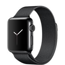 Ремешок Milanese Loop для Apple Watch 38/42 - Black