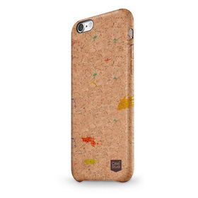 Чехол-накладка для Apple iPhone 8/7 CaseStudi Corkwood Mix