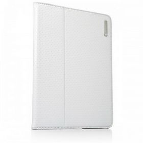 Capdase Folder Case Folio Dot White/Green for iPad 4/iPad 3/iPad 2 (FCAPIPAD3-P026)