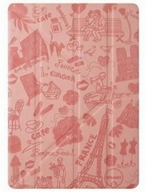 OZAKI O!coat-Travel Paris for iPad Air Pink (OC111PR)