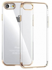 Baseus Shining Case (TPU) For iPhone 7/8 Gold