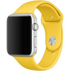 Ремешок Yellow Sport Band for Apple Watch 38/42mm