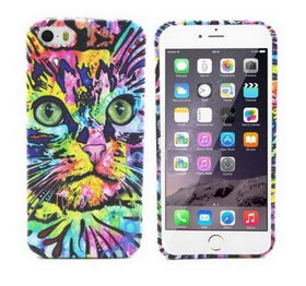 Чехол Funky Animal 3D Case Cover For iPhone 6/6S - кот