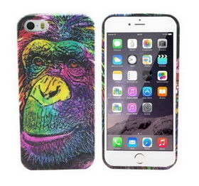 Чехол Funky Animal 3D Case Cover For iPhone 6/6S - обезьяна