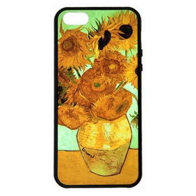Чехол Araree AMY Arts for iPhone 5S - Vase with Sunflowers