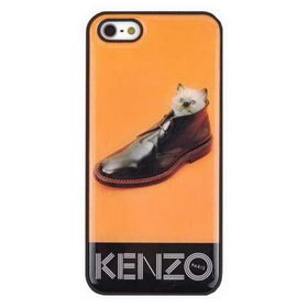 Чехол Kenzo Kitten in Shoes iPhone 5/5S/5SE