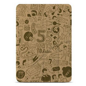 OZAKI O!coat Relax 360° for iPad Air - Khaki