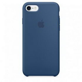 Apple Silicone Case for iPhone 7 - Ocean Blue (Hi-Copy)