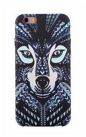 Чехол Funky Animal 3D Case Cover For iPhone 8/7 - Волк