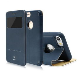 Чехол-книжка для Apple iPhone 8/7 Baseus Simple - Navy