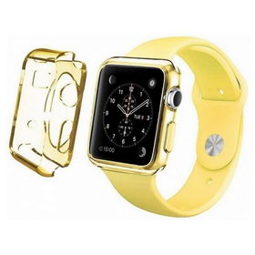Apple Watch 42mm TPU Case - Clear Yellow