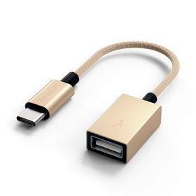 Satechi Type-C to Type-A Cabled Adapter Gold (ST-TCCAG)