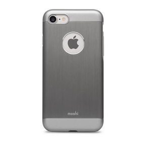 Moshi iGlaze Armour Metallic Case Gun Metal Gray for iPhone 7/8 (99MO088021)