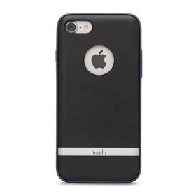 Moshi Napa Vegan Leather Case Charcoal Black for iPhone 8/7 (99MO088003)